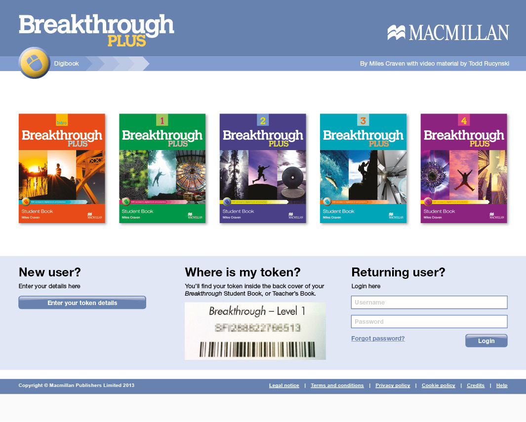 Macmillan Education Breakthrough Digibook Digital