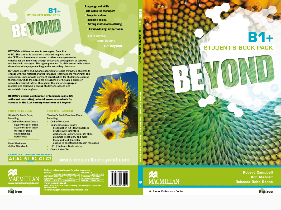 Macmillan Education Beyond Covers ELT Secondary
