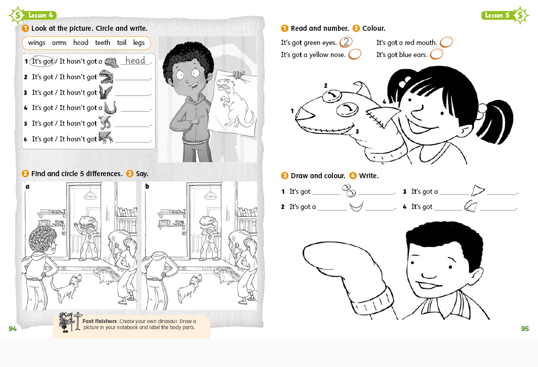 Oxford University Press Let's Explore Primary ELT Student's book