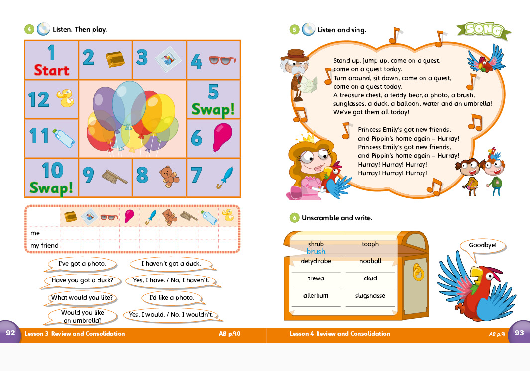 Balberry Publishing Our Discovery Island Primary ELT Student's book