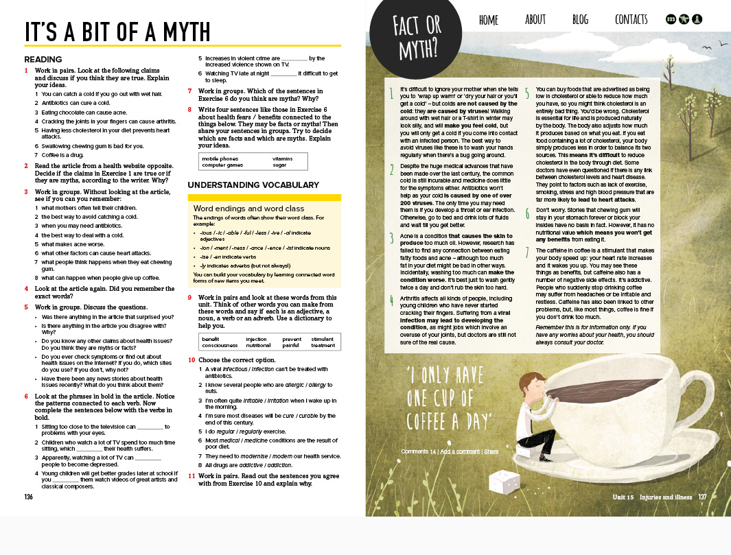 National Geographic Learning   Cengage Learning Outcomes Adult ELT Student's book