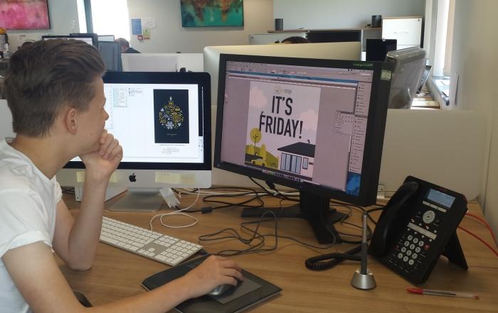 Tom design work experience