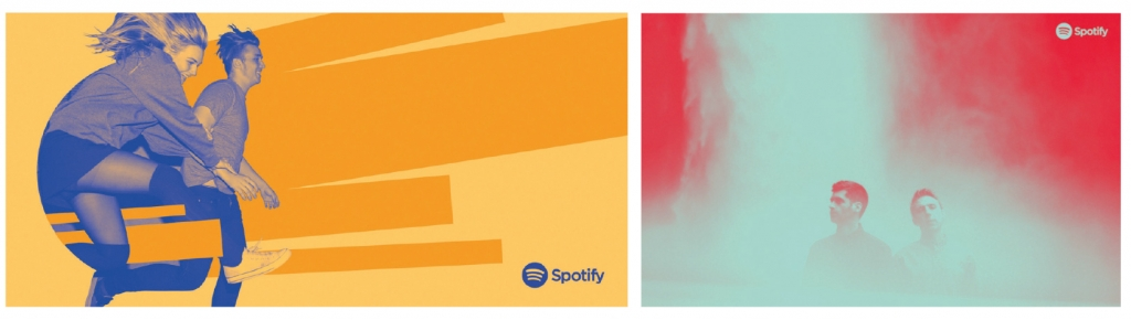 Spotify colour rebrand