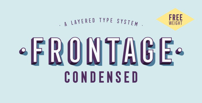 emc design design typography inspiration myfonts.com Juri Zaech Frontage Condensed