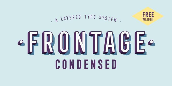 emc design design typography typographic inspiration myfonts.com Juri Zaech Frontage Condensed