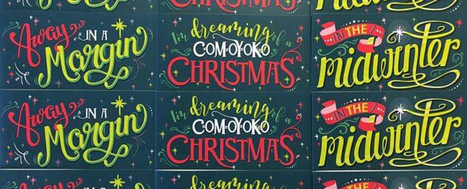christmas, card, christmas card, design