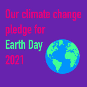 earth day 2021 climate change pledge